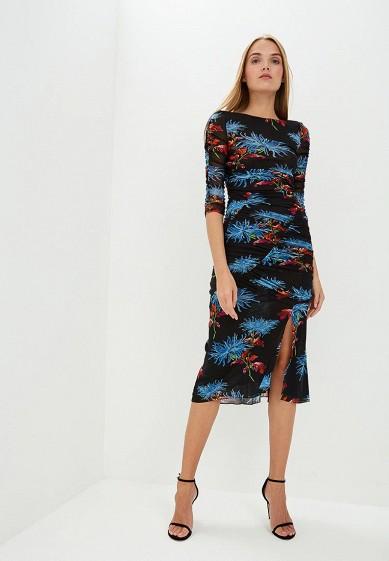 Платье, Diane von Furstenberg, цвет: черный. Артикул: DI001EWBSVT3. Одежда / Платья и сарафаны