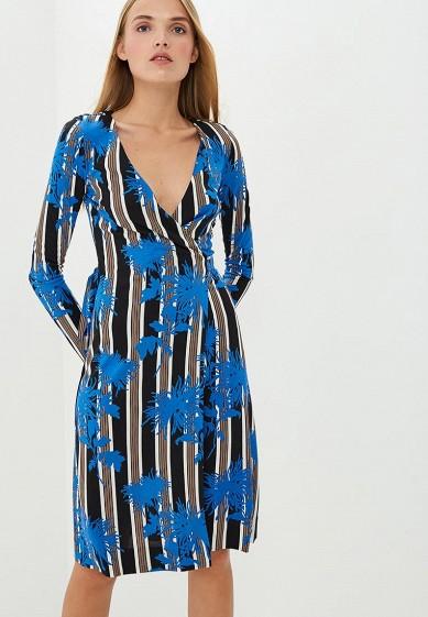 Платье, Diane von Furstenberg, цвет: синий. Артикул: DI001EWBSVT5. Одежда / Платья и сарафаны