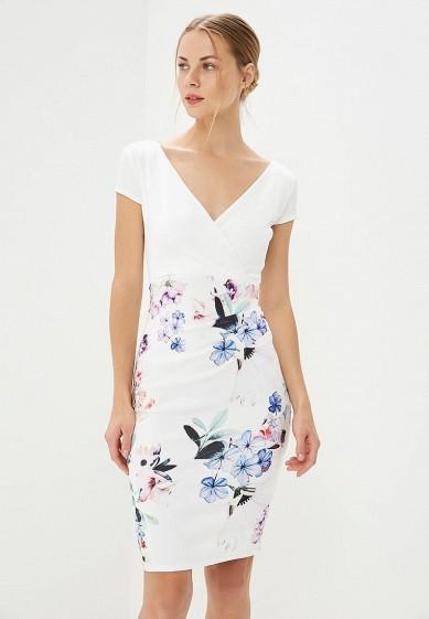 Платье, Dorothy Perkins, цвет: белый. Артикул: DO005EWBVPT7. Одежда / Платья и сарафаны