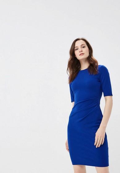 Платье, Dorothy Perkins, цвет: синий. Артикул: DO005EWBYDB9. Одежда / Платья и сарафаны