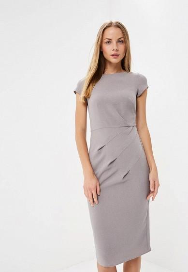 Платье, Dorothy Perkins, цвет: серый. Артикул: DO005EWCEWY2. Одежда / Платья и сарафаны