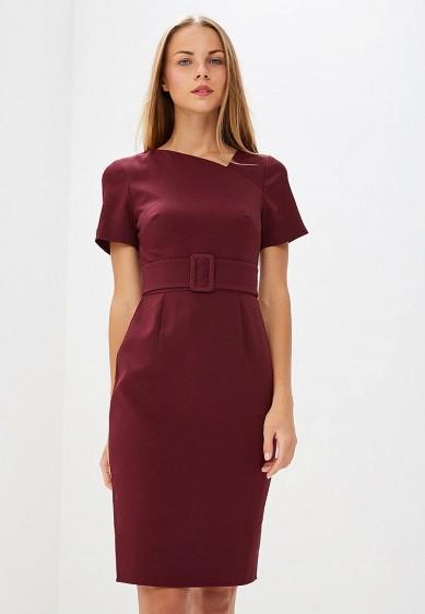 Платье, Dorothy Perkins, цвет: бордовый. Артикул: DO005EWCIIL4. Одежда / Платья и сарафаны