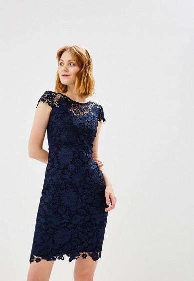 Платье, Dorothy Perkins, цвет: синий. Артикул: DO005EWCKZV8. Одежда / Платья и сарафаны