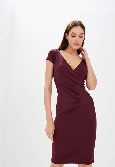 Платье, Dorothy Perkins, цвет: бордовый. Артикул: DO005EWCQWV3. Одежда / Платья и сарафаны