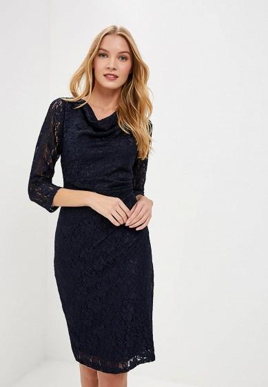 Платье, Dorothy Perkins, цвет: синий. Артикул: DO005EWCUUI6. Одежда / Платья и сарафаны