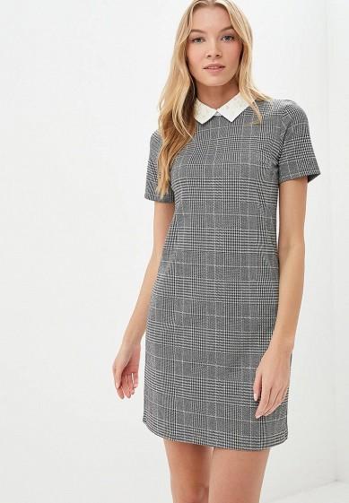 Платье, Dorothy Perkins, цвет: серый. Артикул: DO005EWCYCM2. Одежда / Платья и сарафаны