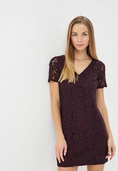 Платье, Dorothy Perkins, цвет: бордовый. Артикул: DO005EWDCVY7. Одежда / Платья и сарафаны