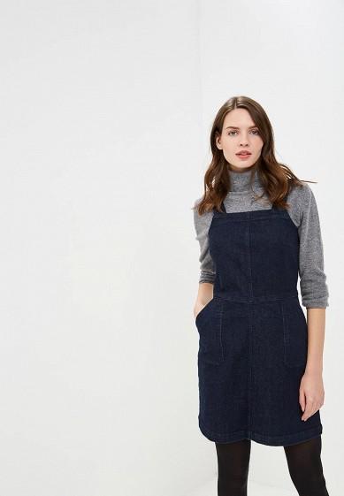 Сарафан, Dorothy Perkins, цвет: синий. Артикул: DO005EWDHRL5. Одежда / Платья и сарафаны