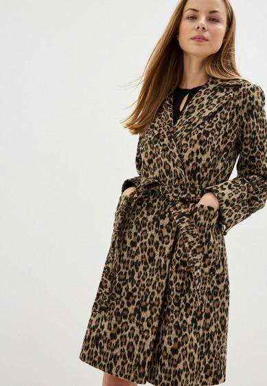 Пальто, Dorothy Perkins, цвет: мультиколор. Артикул: DO005EWGKCQ1. Одежда / Верхняя одежда / Пальто