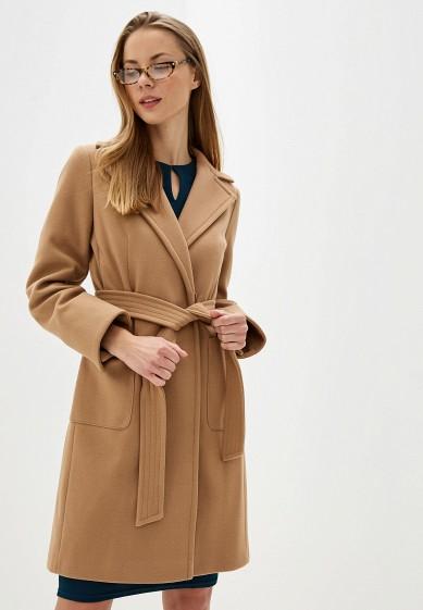 Пальто, Dorothy Perkins, цвет: бежевый. Артикул: DO005EWGKCQ2. Одежда / Верхняя одежда / Пальто