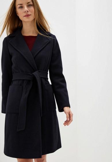 Пальто, Dorothy Perkins, цвет: синий. Артикул: DO005EWGKCQ3. Одежда / Верхняя одежда / Пальто