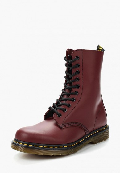 Ботинки Dr. Martens 1490 купить за 14 400 руб DR004AUXMP50 в  интернет-магазине Lamoda.ru 072b51d494bcb
