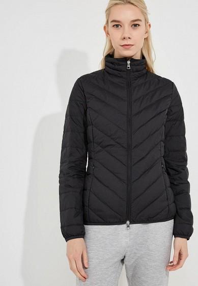 Пуховик, EA7, цвет: черный. Артикул: EA002EWBODV7. Premium / Одежда / Верхняя одежда