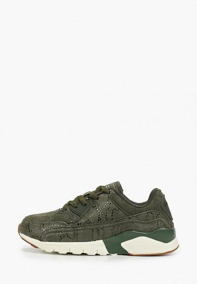 Кроссовки, Escan, цвет: зеленый. Артикул: ES021AWGFBO9. Обувь / Кроссовки и кеды / Кроссовки