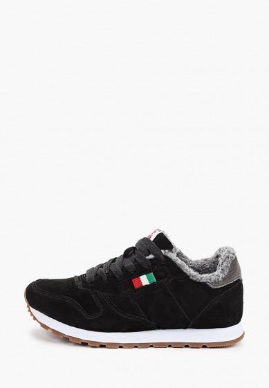 Кроссовки, Escan, цвет: черный. Артикул: ES021AWGFBP0. Обувь / Кроссовки и кеды / Кроссовки
