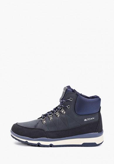 Кроссовки, Escan, цвет: синий. Артикул: ES021AWGFBQ6. Обувь / Кроссовки и кеды / Кроссовки