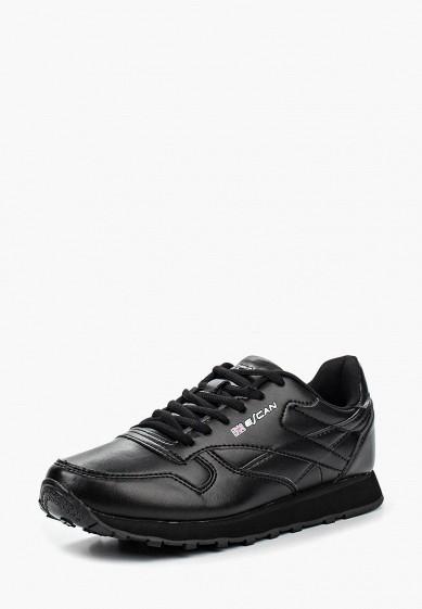 Кроссовки, Escan, цвет: черный. Артикул: ES021AWQSB44. Обувь / Кроссовки и кеды / Кроссовки