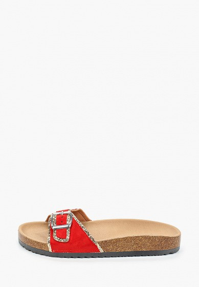 Сабо, Exquily, цвет: красный. Артикул: EX003AWIEGS7. Обувь