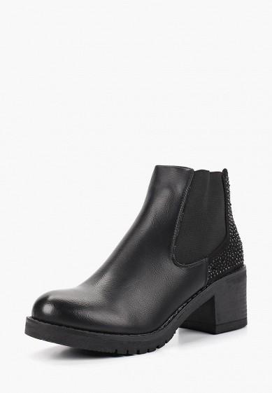 Ботильоны, Fashion & Bella, цвет: черный. Артикул: FA034AWCYWN6. Обувь / Ботильоны