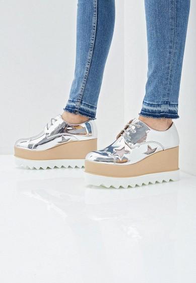 Ботильоны, Fashion & Bella, цвет: серебряный. Артикул: FA034AWEQXP0. Обувь / Ботильоны