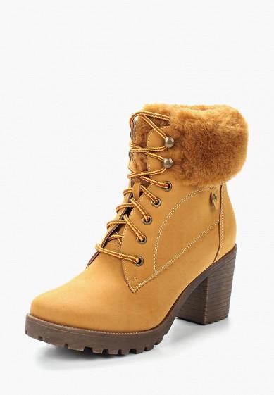 Ботильоны, Fashion & Bella, цвет: коричневый. Артикул: FA034AWYDT51. Обувь / Ботильоны