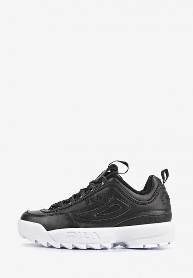 Кроссовки, Fila, цвет: черный. Артикул: FI030AWEJFP2. Обувь / Кроссовки и кеды / Кроссовки