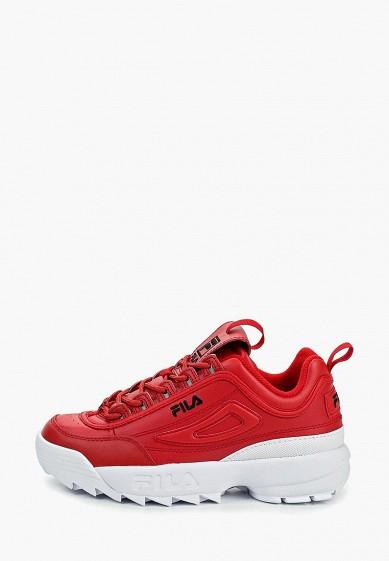 Кроссовки, Fila, цвет: красный. Артикул: FI030AWEJFP3. Обувь / Кроссовки и кеды / Кроссовки