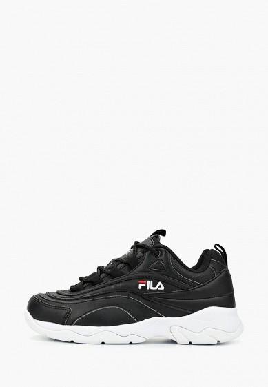 Кроссовки, Fila, цвет: черный. Артикул: FI030AWEJFP6. Обувь / Кроссовки и кеды / Кроссовки