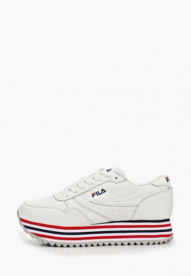 Кроссовки, Fila, цвет: белый. Артикул: FI030AWEJFQ5. Обувь / Кроссовки и кеды / Кроссовки