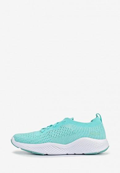 Кроссовки, Fila, цвет: бирюзовый. Артикул: FI030AWEJHI4. Обувь / Кроссовки и кеды / Кроссовки