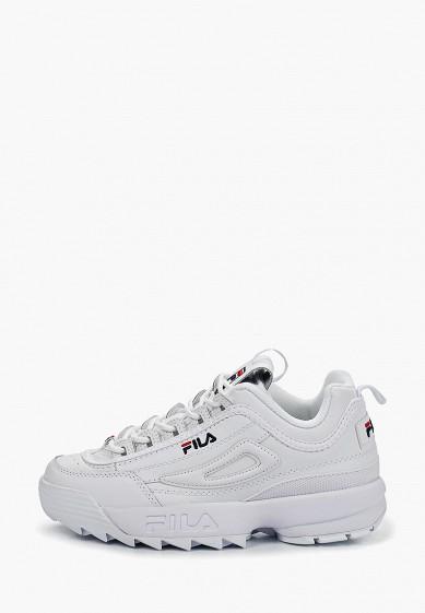Кроссовки, Fila, цвет: белый. Артикул: FI030AWESRQ2. Обувь / Кроссовки и кеды / Кроссовки