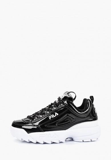Кроссовки, Fila, цвет: черный. Артикул: FI030AWESRQ3. Обувь / Кроссовки и кеды / Кроссовки