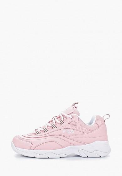 Кроссовки, Fila, цвет: розовый. Артикул: FI030AWESRQ7. Обувь / Кроссовки и кеды / Кроссовки
