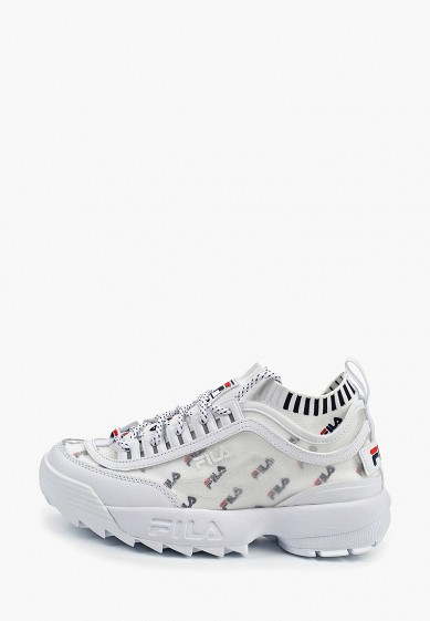 Кроссовки, Fila, цвет: белый. Артикул: FI030AWFEBK2. Обувь / Кроссовки и кеды / Кроссовки