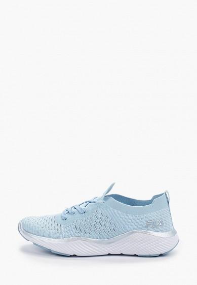 Кроссовки, Fila, цвет: голубой. Артикул: FI030AWGFBK2. Обувь / Кроссовки и кеды / Кроссовки