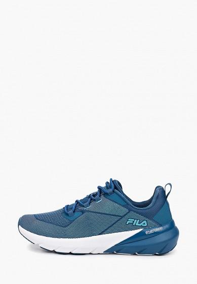 Кроссовки, Fila, цвет: синий. Артикул: FI030AWGFBL6. Обувь / Кроссовки и кеды / Кроссовки
