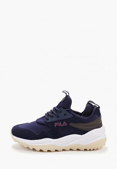 Кроссовки, Fila, цвет: синий. Артикул: FI030AWGFBM3. Обувь / Кроссовки и кеды / Кроссовки