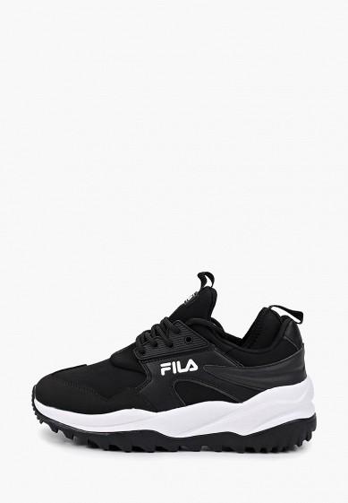 Кроссовки, Fila, цвет: черный. Артикул: FI030AWGFBM4. Обувь / Кроссовки и кеды / Кроссовки