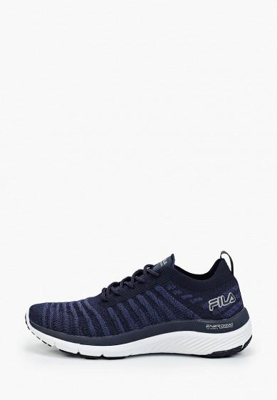 Кроссовки, Fila, цвет: синий. Артикул: FI030AWGFBN4. Обувь / Кроссовки и кеды / Кроссовки