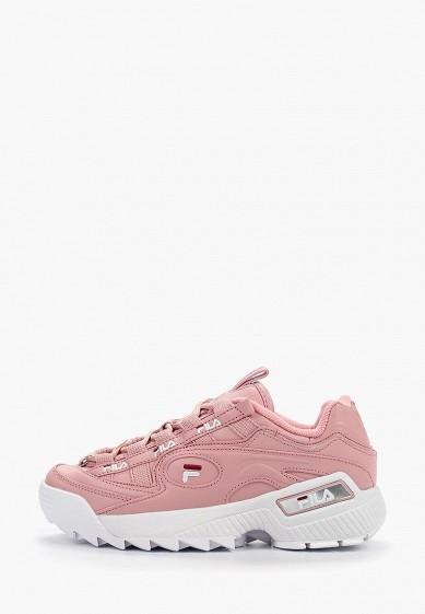 Кроссовки, Fila, цвет: розовый. Артикул: FI030AWGGBV8. Обувь / Кроссовки и кеды / Кроссовки