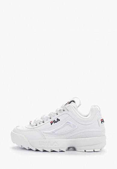 Кроссовки, Fila, цвет: белый. Артикул: FI030AWGGCG2. Обувь / Кроссовки и кеды / Кроссовки