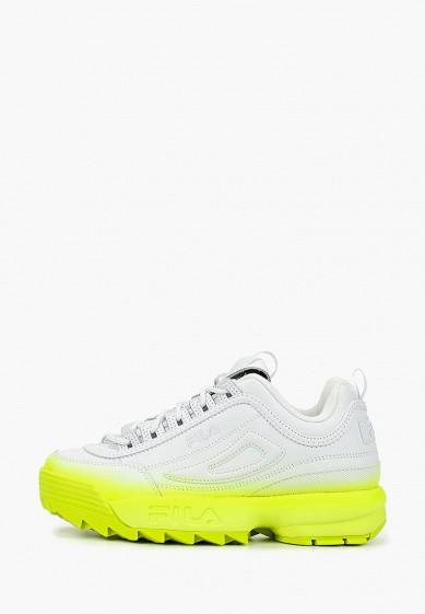 Кроссовки, Fila, цвет: белый. Артикул: FI030AWGGCG3. Обувь / Кроссовки и кеды / Кроссовки