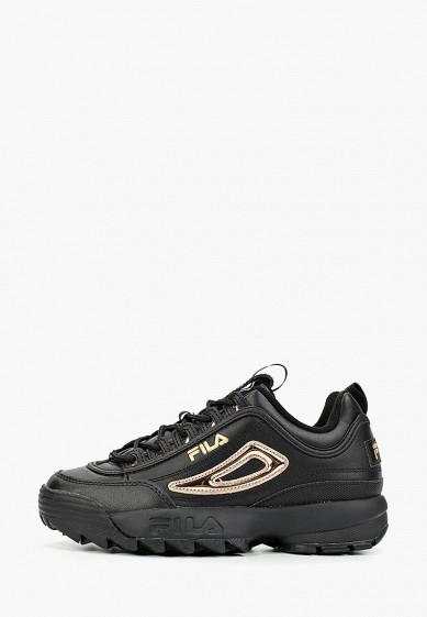 Кроссовки, Fila, цвет: черный. Артикул: FI030AWGGCG6. Обувь / Кроссовки и кеды / Кроссовки