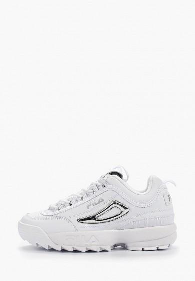 Кроссовки, Fila, цвет: белый. Артикул: FI030AWGGCG7. Обувь / Кроссовки и кеды / Кроссовки