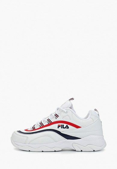 Кроссовки, Fila, цвет: белый. Артикул: FI030AWGGCH2. Обувь / Кроссовки и кеды / Кроссовки