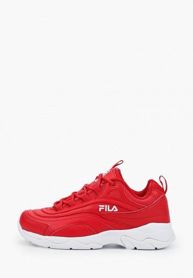 Кроссовки, Fila, цвет: красный. Артикул: FI030AWGGCH3. Обувь / Кроссовки и кеды / Кроссовки
