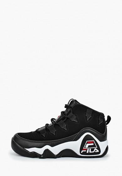 Кроссовки, Fila, цвет: черный. Артикул: FI030AWGGCH9. Обувь / Кроссовки и кеды / Кроссовки