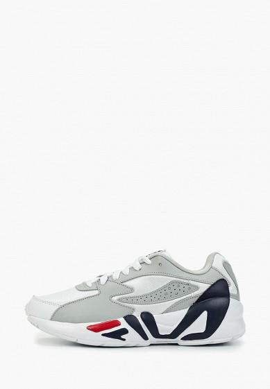 Кроссовки, Fila, цвет: белый. Артикул: FI030AWGGCI7. Обувь / Кроссовки и кеды / Кроссовки