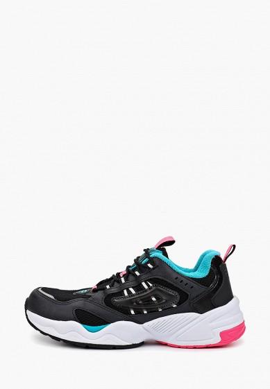Кроссовки, Fila, цвет: черный. Артикул: FI030AWGGCJ1. Обувь / Кроссовки и кеды / Кроссовки