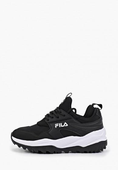 Кроссовки, Fila, цвет: черный. Артикул: FI030AWGJLO3. Обувь / Кроссовки и кеды / Кроссовки